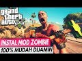 Tutorial Instal MOD Zombie MUDAH !! di GTA 5 Zombie Mod Survival
