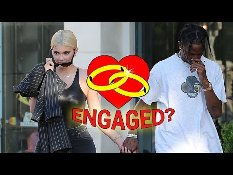 EXCLUSIVE - Did Kylie Jenner And Travis Scott Just Pick Out Wedding Rings?!