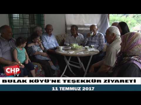 BULAK KÖYÜ'NE TEŞEKKÜR ZİYARETİ 11/07/2017
