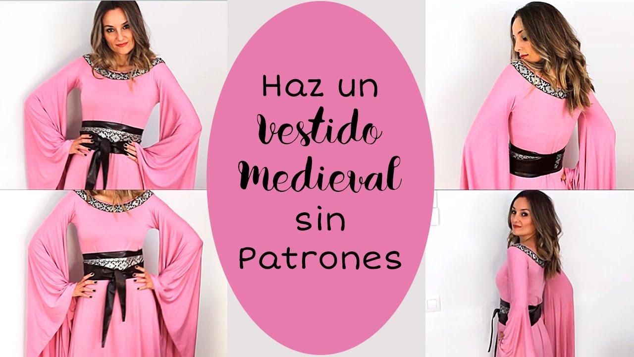 Haz Un Vestido Medieval Sin Patronaje. Fácil 🛡⚔ I Craftabulous ...