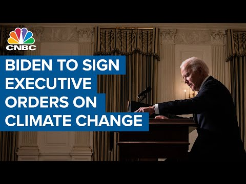 President Joe Biden to sign executive actions to combat climate change