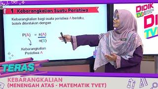 Teras (2021)   Kebarangkalian (Menengah Atas – Matematik TVET)