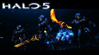 Halo 5 -How to Beat the Final Boss on Legendary in less than 2 minutes (Beat Final Halo 5 boss fast)