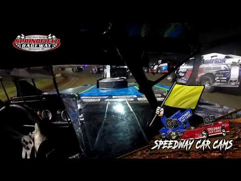 #15 Cayden Stacye - B Modified - 7-27-19 Springfield Raceway  - In Car Camera