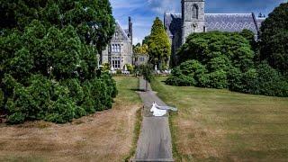 Ashdown Park Drone and Bride