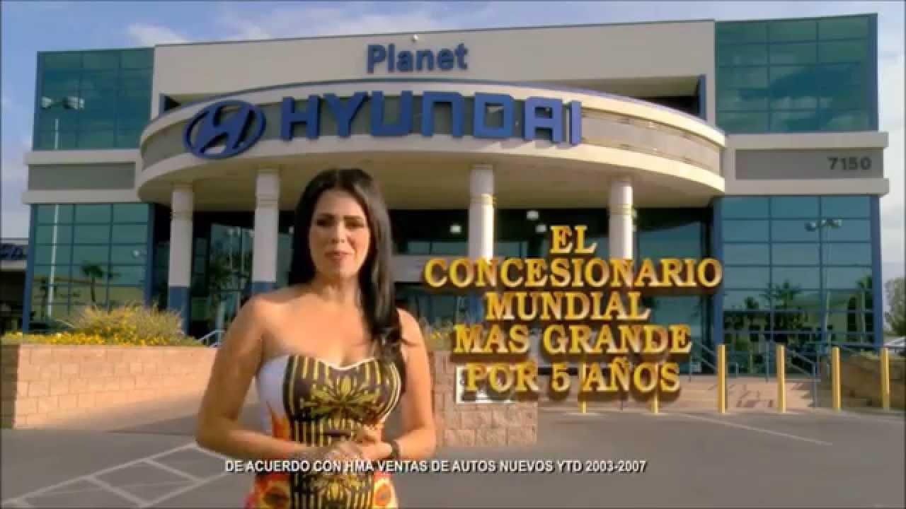 Superb Planet Hyundai Spanish Commercial Rosario Grajales Spokesperson   YouTube