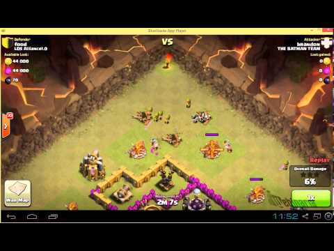 How To Lure Clan Castle Troops - Clash Of Clans