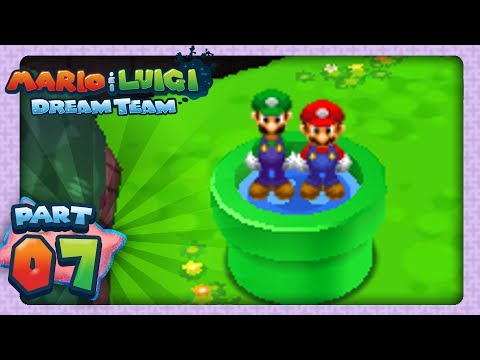 Mario & Luigi: Dream Team - Part 7 - Dream & Dark Stones