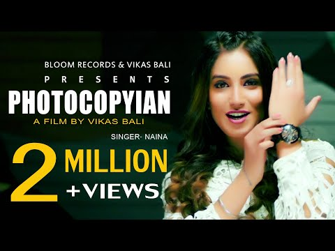 Photocopyian | Female version | Naina Ft Subha | Vikas Bali | G Skillz | Latest Punjabi Songs 2019