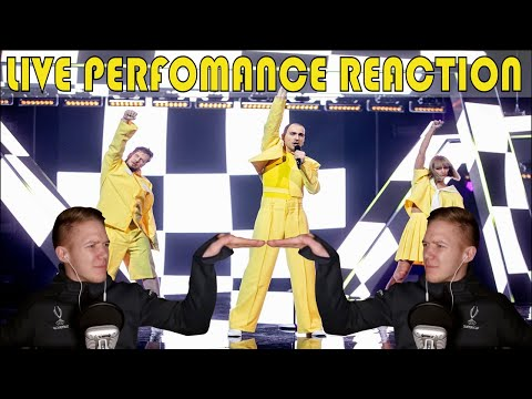 """BEST STAGING OF 2021? The Roop """"Discoteque"""" LIVE Reaction (Lithuania Eurovision)"""
