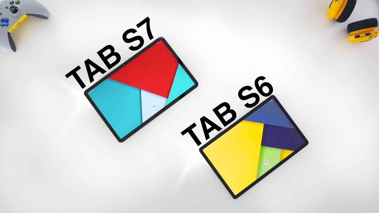 Samsung Galaxy Tab S7 vs Tab S6 - Review & Comparison