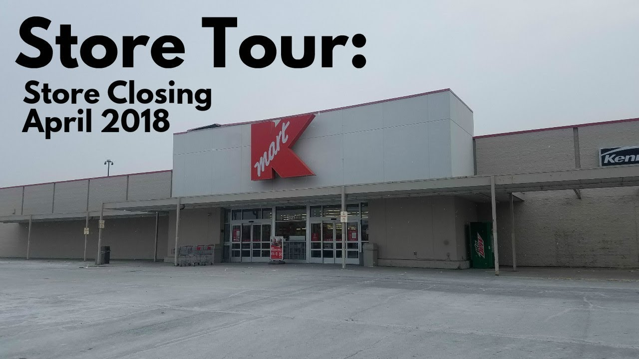 STORE TOUR Kmart Sandy Hollow Road Rockford IL CLOSING