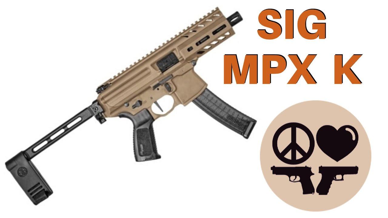 Sig MPX K - Pistola Caliber Carbine Coolness 😎