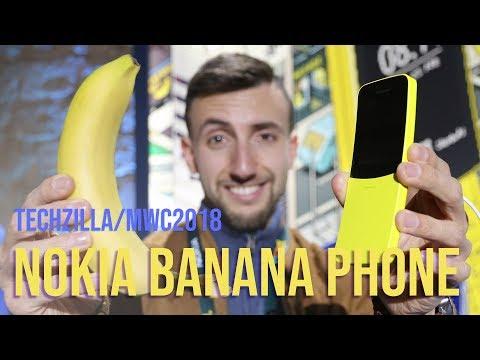Il BANANA PHONE di Nokia (8110 remake) ! - MWC 2018
