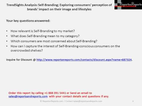 Self-Branding Market 2016 Report Industry Trends Analysis and Forecast