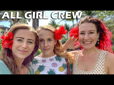Three Girls ALONE on a Sailboat -  S5:E26