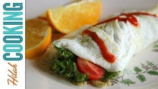 Egg White Omelet (co-starring Yoga With Adriene!)