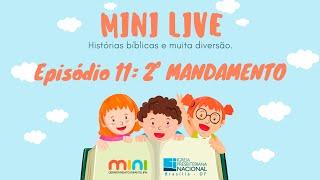 MINI LIVE IPNONLINE Episódio 11: 2° Mandamento (Lic. Davi Medeiros) - 07/05/2020