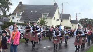 Quinn Memorial Pipe Band @ 12th of July 2015