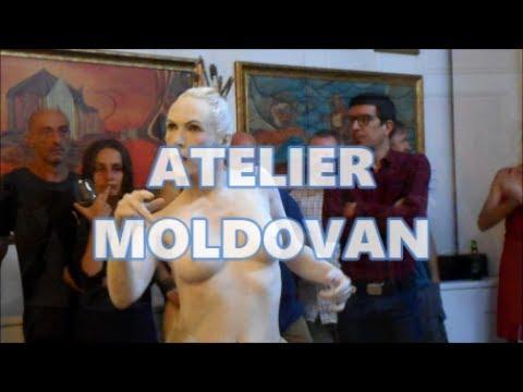 KÖRPER - SPUREN - TRÄUME - Butoh Dance Performance at Atelier Moldovan