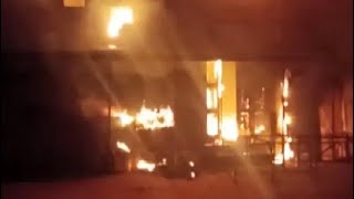 Fire Breaks Out At Hyderabad's Prakash Theatre