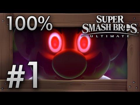Super Smash Bros. Ultimate: World of Light Part 1 - Intro & World Tour - 100% Walkthrough