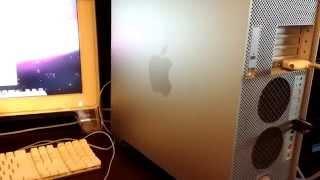 Make external Mac OS X 10.5.8 Leopard Boot Disk from Power Mac G5