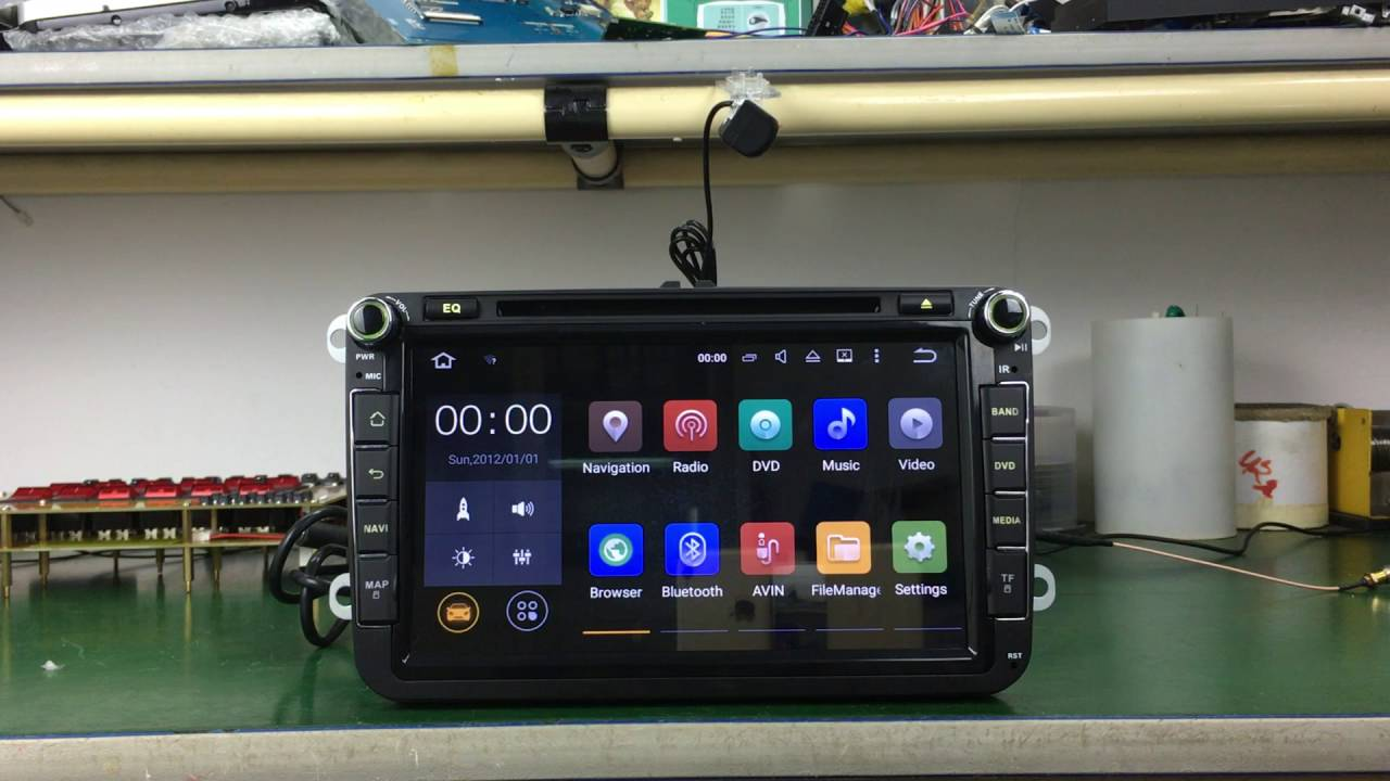 Joying plug and play android 5 1 1 Lollipop android head unit for VW Golf  Polo Skoda Seat
