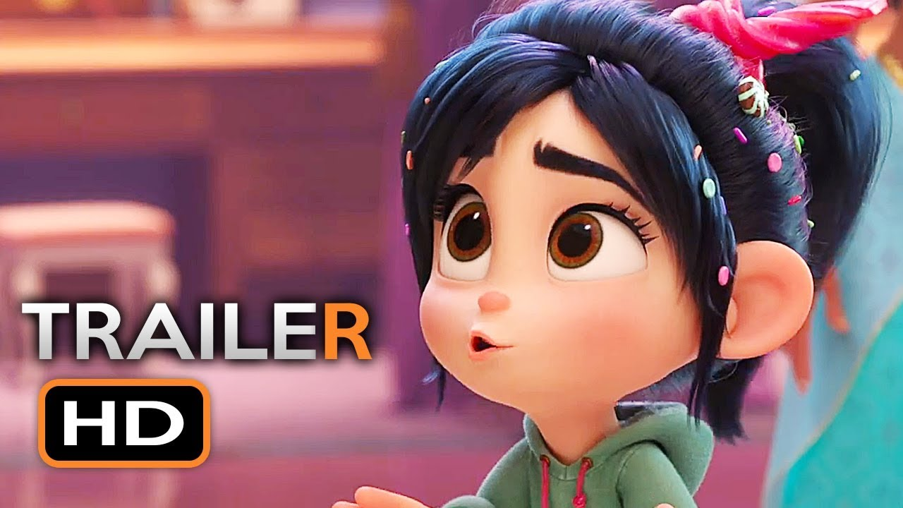 Wreck-It Ralph 2 Official Trailer #2 (2018) Ralph Breaks ...