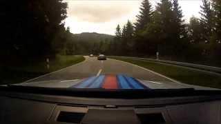 Alpine Run 2013 - Black Forest B500 - M3 Vs Mclaren Mp4-12c
