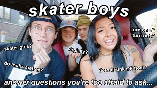 what SKATER BOYS actually look for in girls!