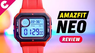 Amazfit Neo Retro Smartwatch Unboxing & Review - Rs. 2499 Only!!!