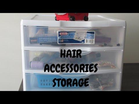 HAIR ACCESSORIES STORAGE