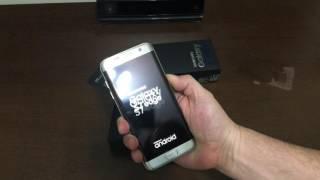 Unboxing Galaxy S7 Edge Prata, Nacional , Brasil