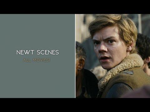newt scenes (all movies) | 1080p logoless