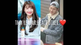 SHINee Key and Apink Eunji Moments 2018