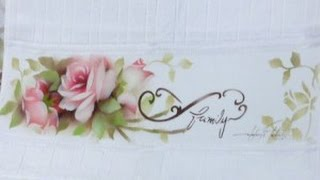Mayumi Takushi – Pintura em Tecido – Rosas