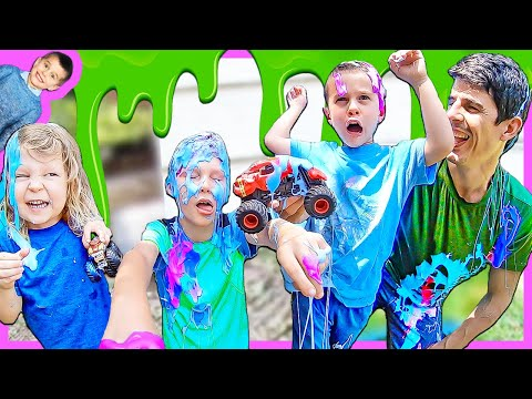 Monster Trucks Play In Zombie Slime With The Axel Show