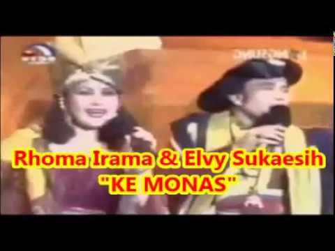 Rhoma Irama & Elvy Sukaesih  :  KE MONAS --  Musik Soneta Group   1,035