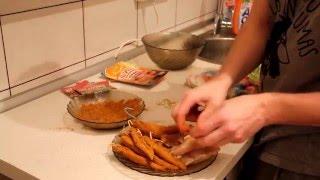 Как приготовить карпаччо из курицы(Ингредиенты: Филе куриное — 4 Штуки Соль — 10 Ст. ложек Перец черный молотый -1 Ч. ложка(по вкусу-я люблю по..., 2016-02-26T06:10:24.000Z)