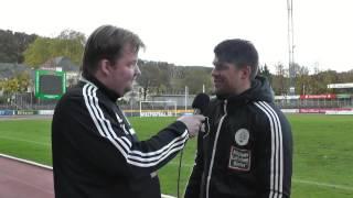Interviews SV Eintracht Trier - FC 08 Homburg (16. Spieltag Saison 2013/2014)