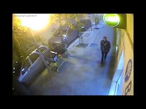 ¿Es Rodrigo Hredil? Difunden video delas cámaras de seguridad neuquinas