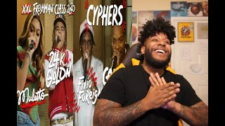 Fivio Foreign, Calboy, 24kGoldn and Mulatto's 2020 XXL Freshman Cypher REACTION/REVIEW