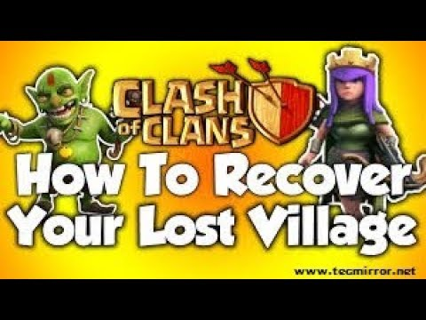 How To Recover Lost Clash Pf Clan Account