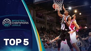 Top 5 Plays - Tuesday - Gameday 9 - Basketball Champions League 2018-19