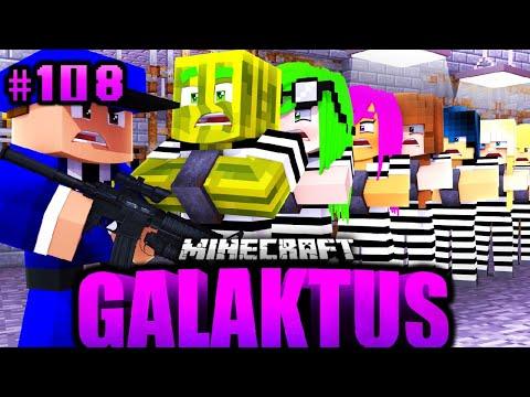 Der ULTIMATIVE GEFÄNGNIS AUSBRUCH?! - Minecraft GALAKTUS #108 [Deutsch/HD]