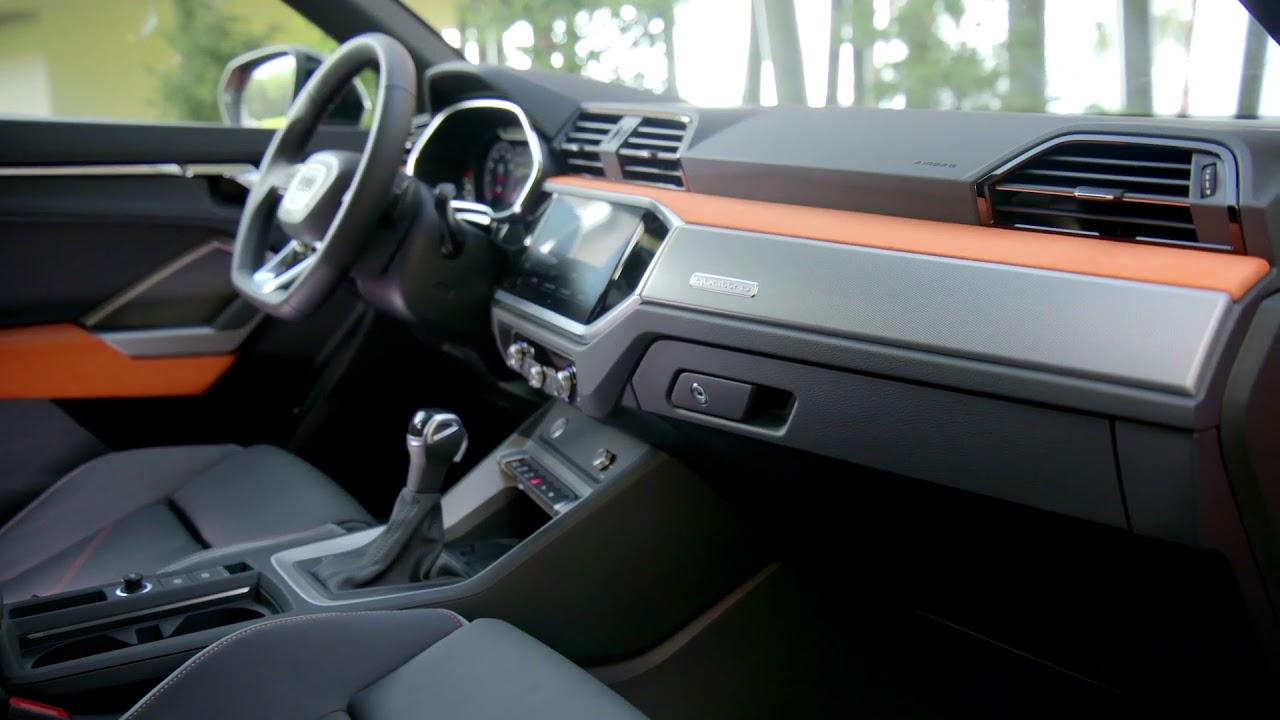 2018 Audi Q3 Interior Design In Pulse Orange