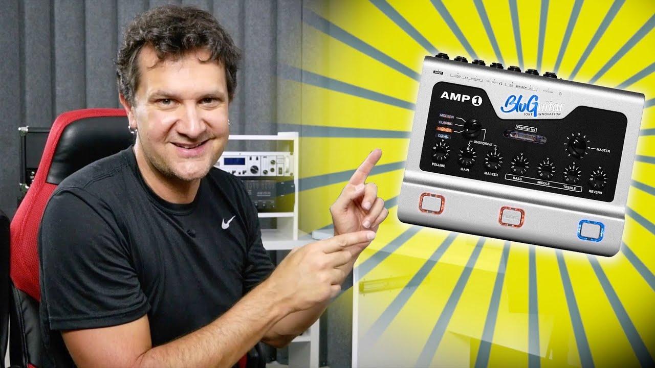 BluGuitar AMP1 Mercury Guitar Amp First Impressions...