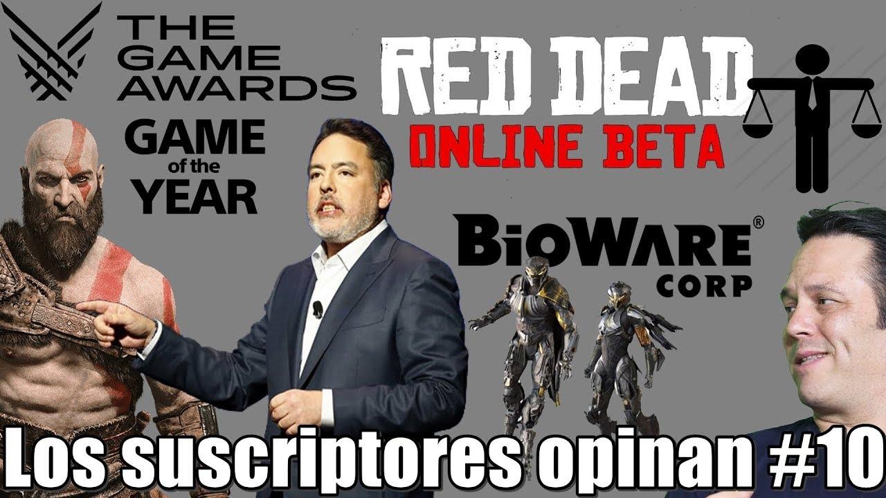 God of War lo mejor de los TGA 2018 | Xboxers quieren a Bioware | Rockstar debe mejorar RDR Online