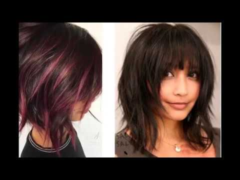 Hairstyles Wavy Bob Hairstyles With Bangs 2018